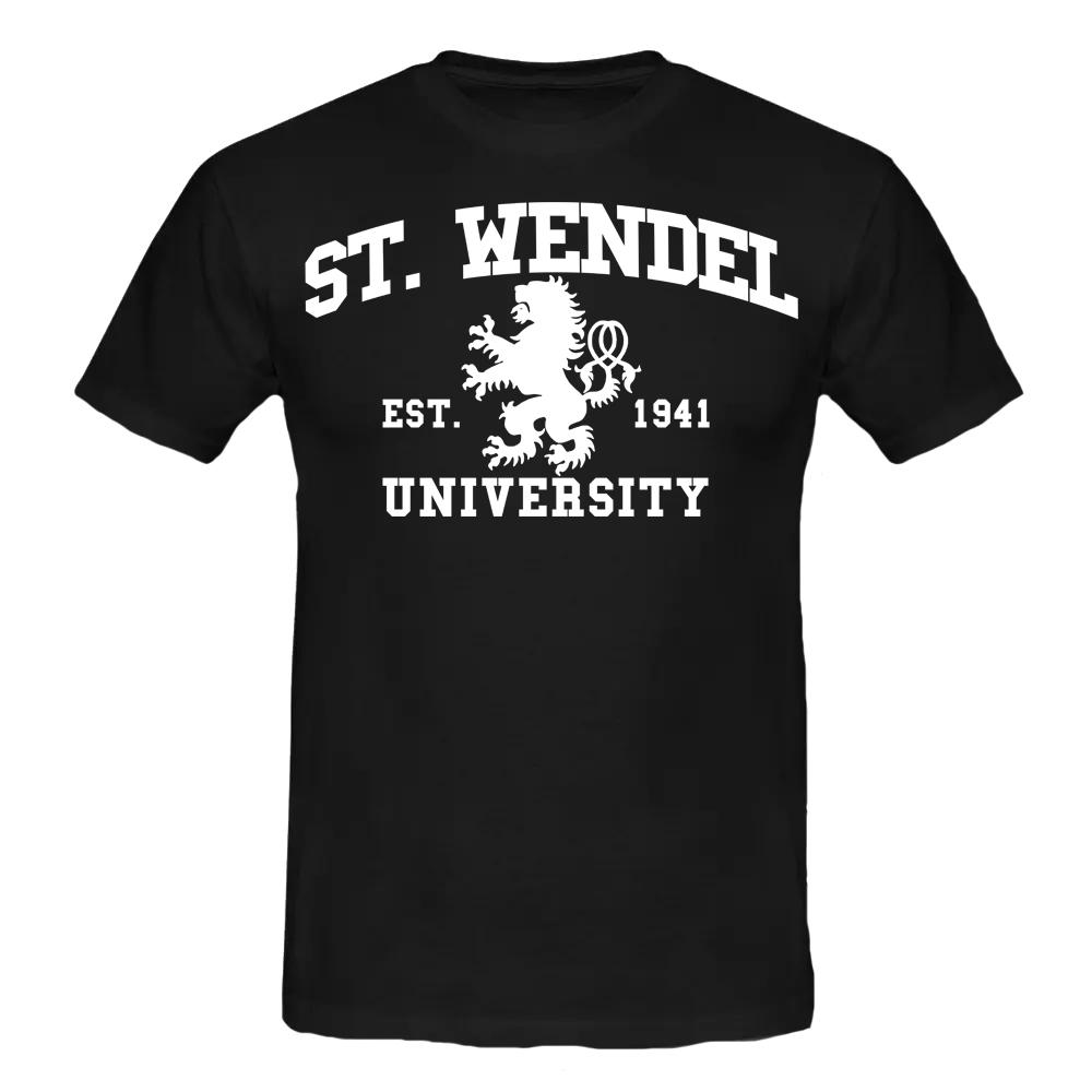 ST.WENDEL T-Shirt schwarz