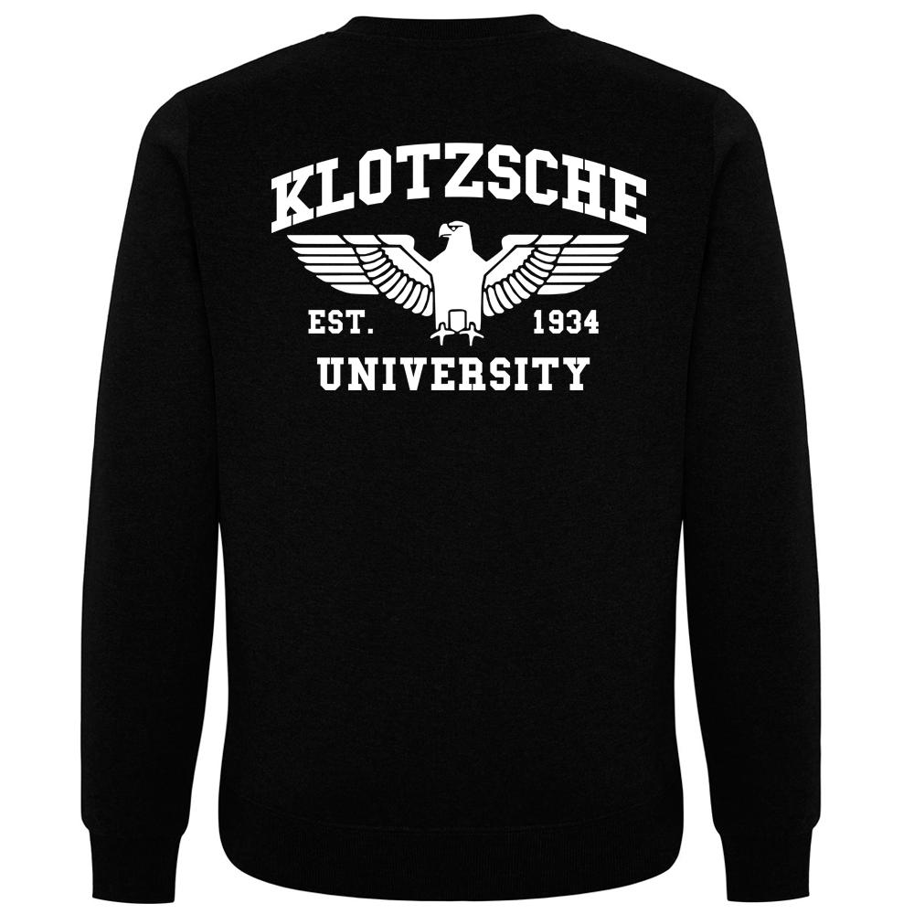 KLOTZSCHE Pullover schwarz