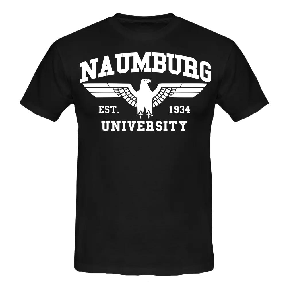 NAUMBURG T-Shirt schwarz