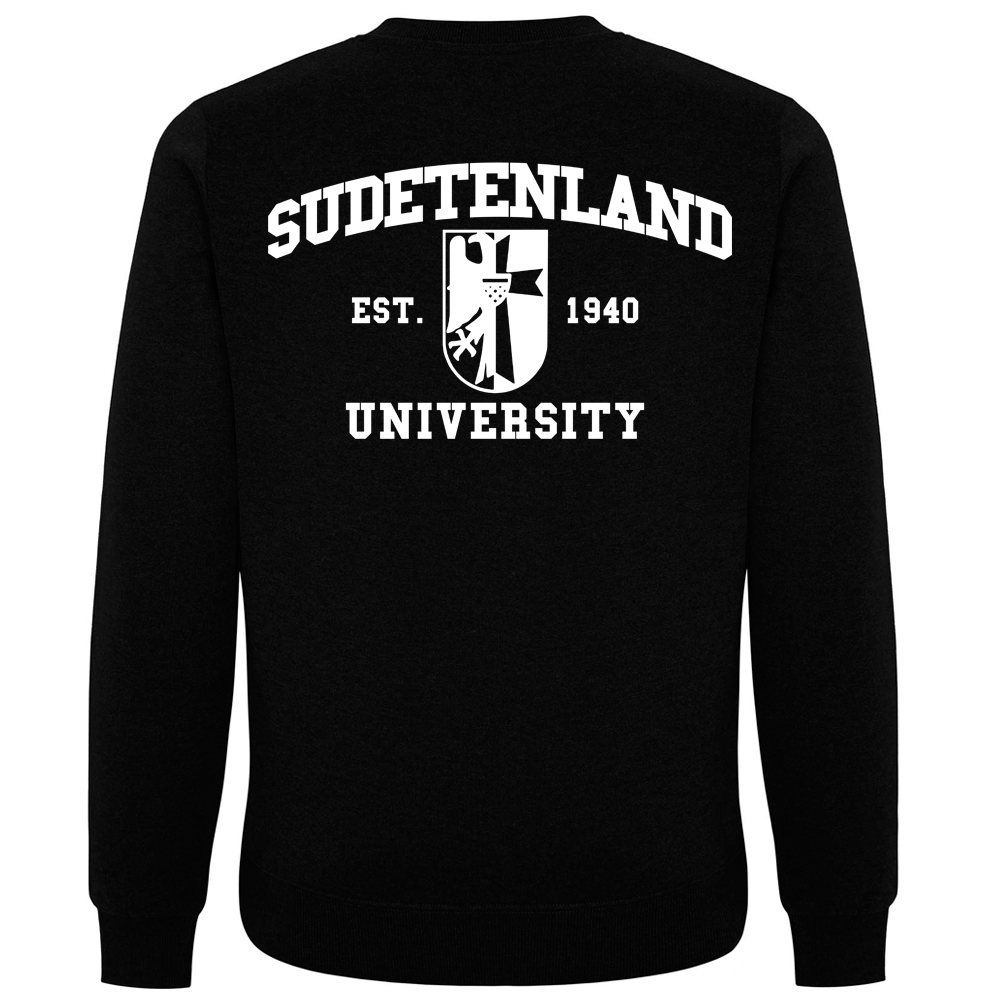 SUDETENLAND Pullover schwarz