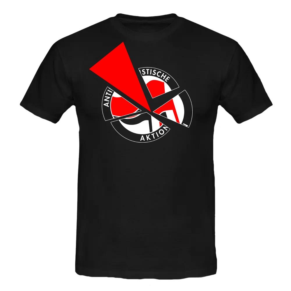 Anti-Antifa Actioncrew T-Shirt schwarz