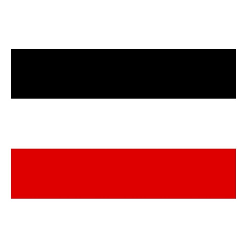 Flagge Schwarz-Weiß-Rot (große Version)