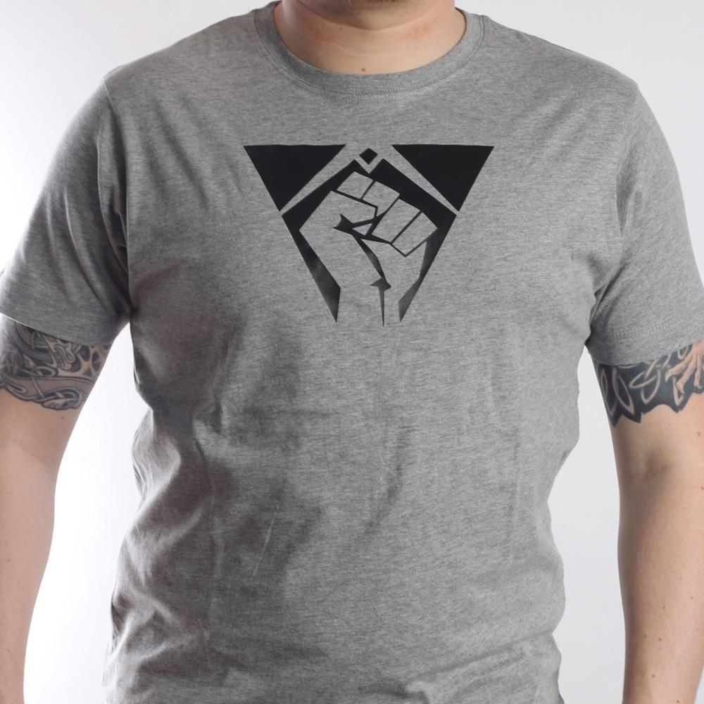T-Shirt Fist grau