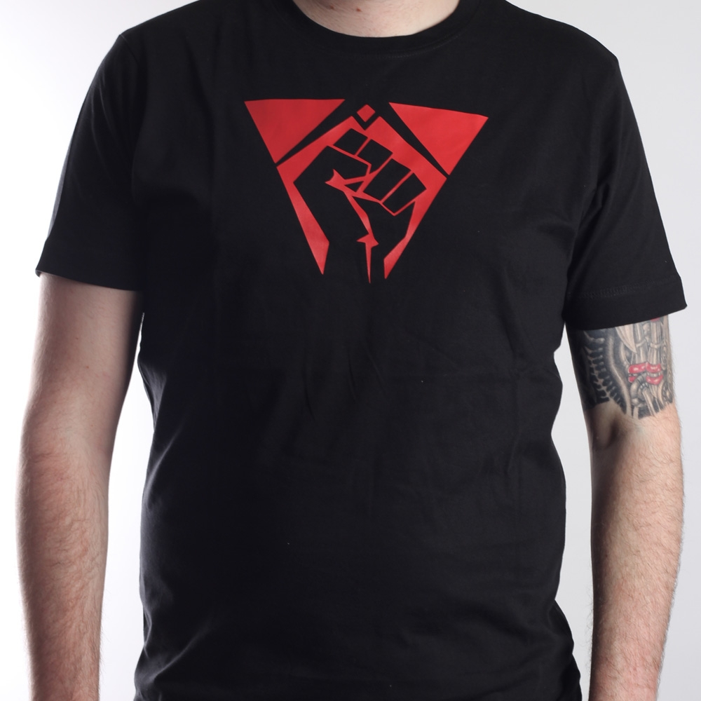 T-Shirt Fist schwarz