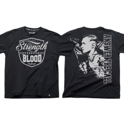 Strength through Blood - schwarz TS