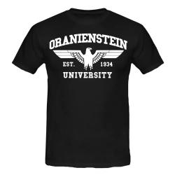 ORANIENSTEIN T-Shirt schwarz