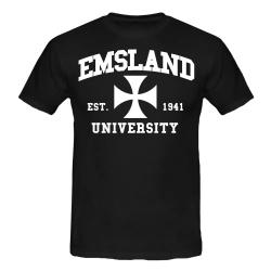 EMSLAND T-Shirt schwarz
