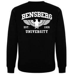 BENSBERG Pullover schwarz