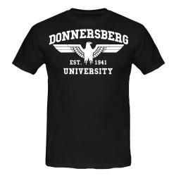 DONNERSBERG T-Shirt schwarz