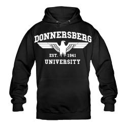 DONNERSBERG Hoody schwarz