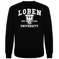 LOBEN Pullover schwarz