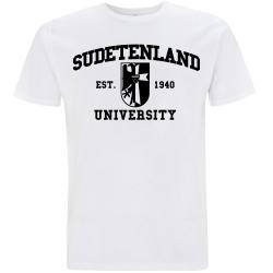 SUDETENLAND T-Shirt weiß
