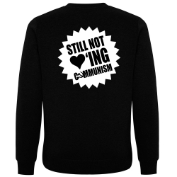 STILL NOT LOVING COMMUNISM Pullover schwarz