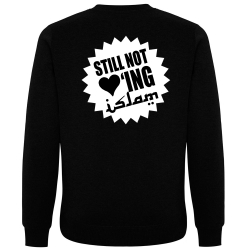 STILL NOT LOVING ISLAM Pullover schwarz