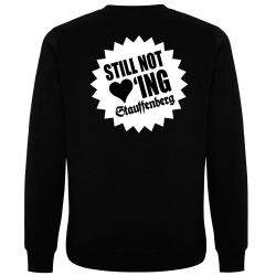 STILL NOT LOVING STAUFFENBERG Pullover schwarz