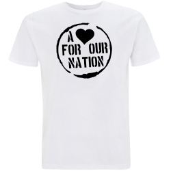 A <3 for our Nation-Shirt weiß