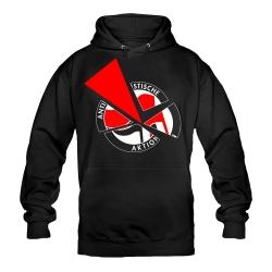 Anti-Antifa Actioncrew Hoody schwarz