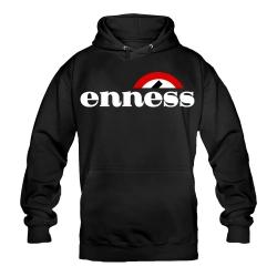 ENNESS Hoody schwarz