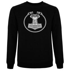 MJÖLLNIR Pullover schwarz