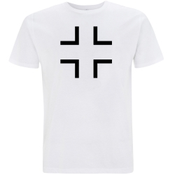 BALKENKREUZ T-Shirt weiß