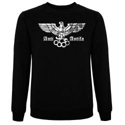 ANTI-ANTIFA Pullover schwarz