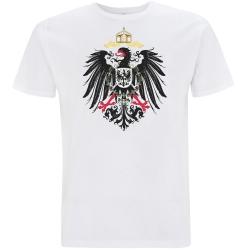 DEUTSCHES REICH T-Shirt weiß