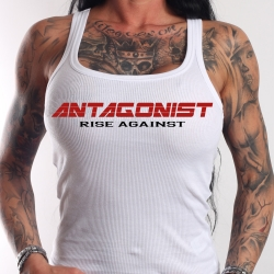Tank Top Antagonist weiß Girly