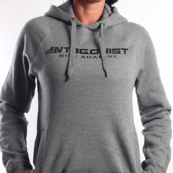 Hoody Antagonist grau Girly