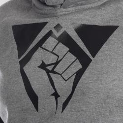 Hoody Fist grau