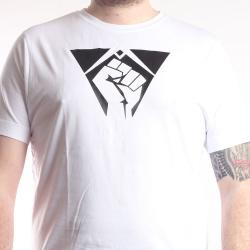 T-Shirt Fist weiß