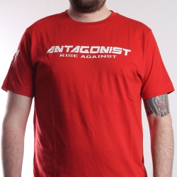 T-Shirt Antagonist rot
