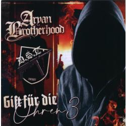 Split CD Aryan Brotherhood / DST -Gift für die Ohren III-